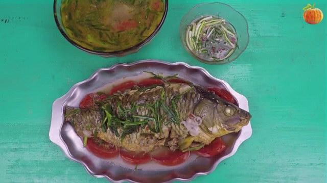 Cá chép nấu riêu