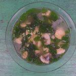 Canh rau ngót nấu cá rô
