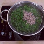 Canh rau ngót nấu thịt nạc băm