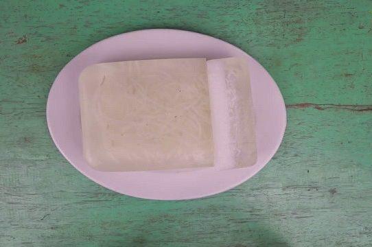 Thạch rau câu nước dừa