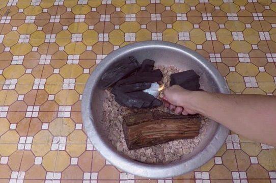 40 Giây tự làm lò nướng than hoa 40 Giây tự làm lò nướng than hoa