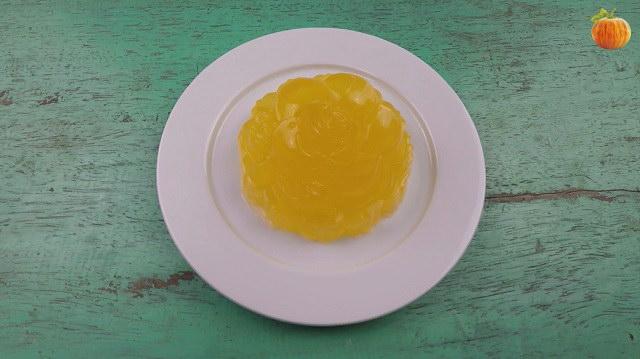 Bánh trung thu rau câu vị cam tươi