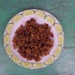 Tóp mỡ rim chua – cay – mặn – ngọt