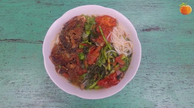Cách làm bún cá Nam Định