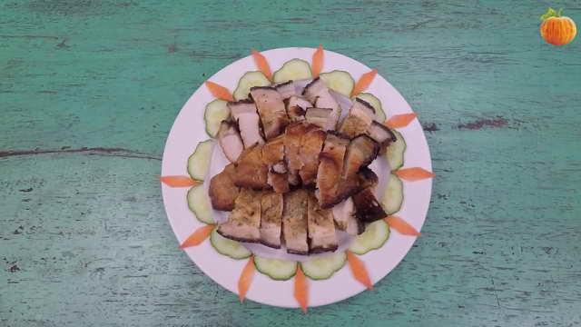Cách làm thịt heo nướng đơn giản bằng lò vi sóng