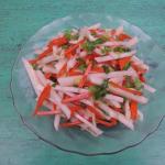 Salad củ đậu cà rốt