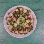 Salad dưa chuột cuộn