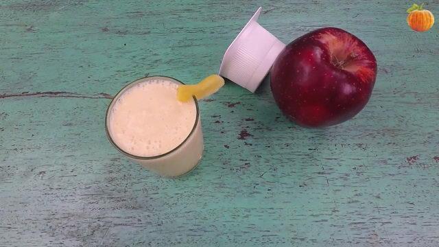 Sinh tố táo - dứa - sữa chua