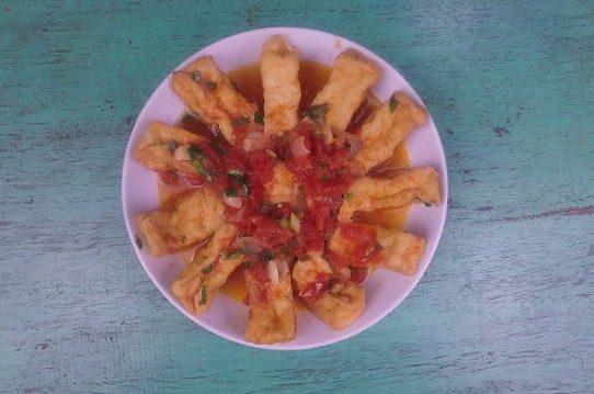 Đậu phụ sốt cà chua || Món ăn chay
