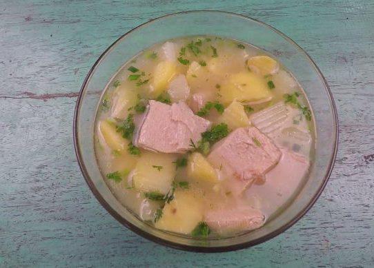 Canh sườn chay nấu khoai tây
