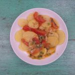 Khoai tây xào cà chua