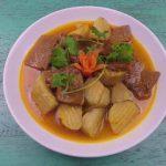 Thịt bò nấu cà ri chay