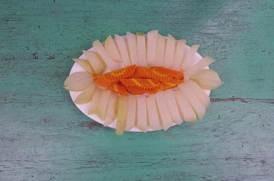 Su hào cà rốt luộc || Món ăn chay