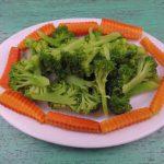 Súp lơ cà rốt luộc || Món ăn chay