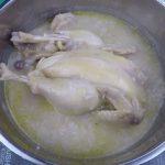 Nấu cháo gà bằng cơm nguội
