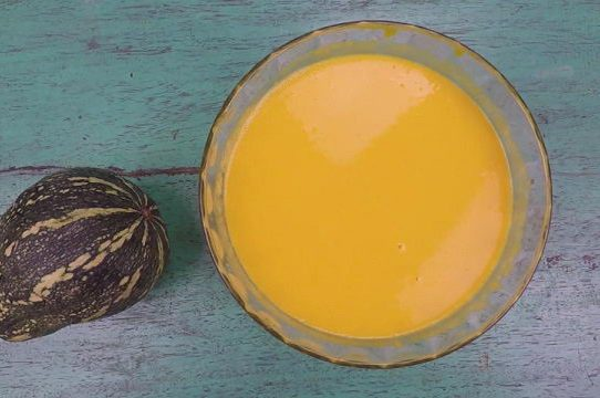 Cách làm sữa bí ngô cốt dừa