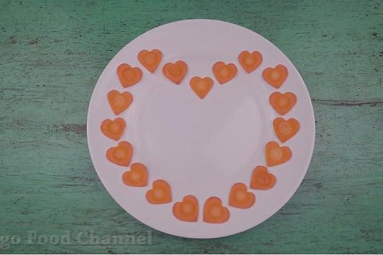 Trang trí viền đĩa (14) - Nhịp tim