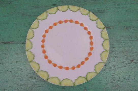 Trang trí viền đĩa (17) - Vòng tròn cổ tích