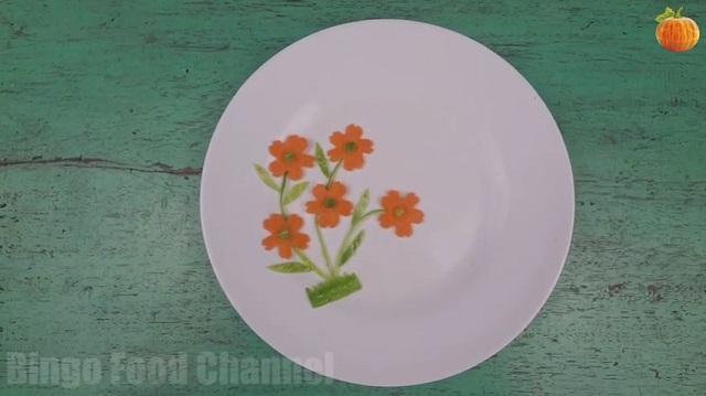Trang trí viền đĩa (43): Trồng cỏ - Trồng hoa